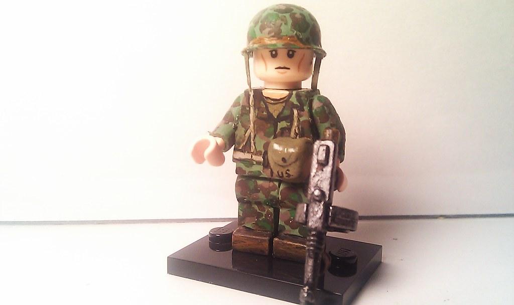 Lego Custom Minifigure WWII USMC Marine Raider | The ...