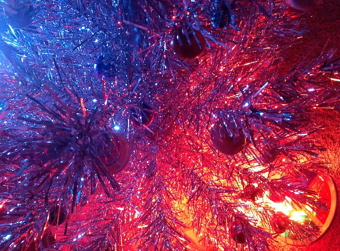 Aluminum Christmas Tree Using 2 Color Sources A Vintage R Flickr