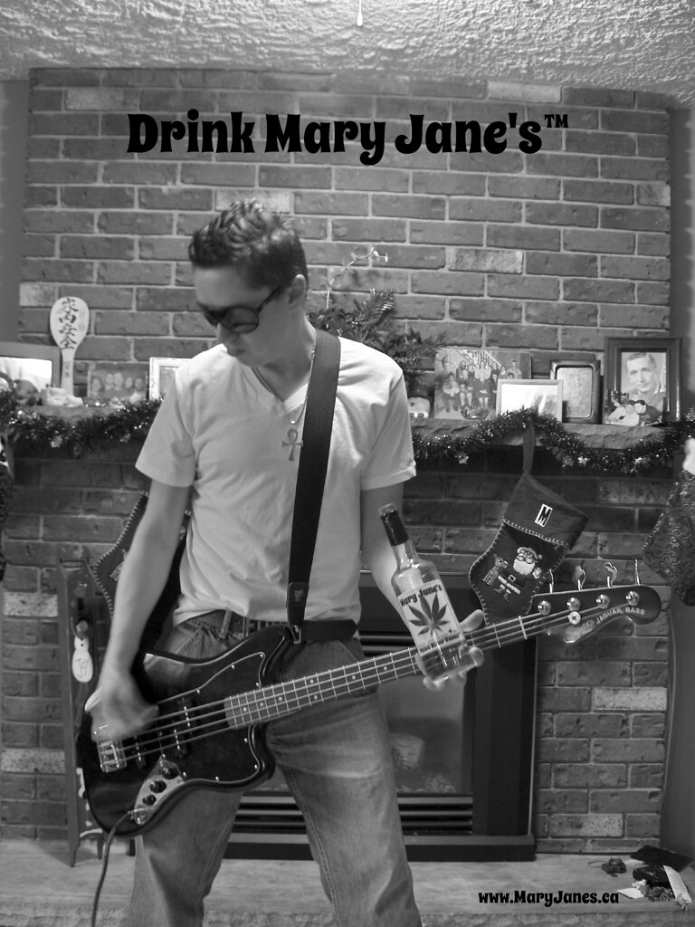 Hemp Vodka Drink Mary Jane S Fender Squier Vintage Mo
