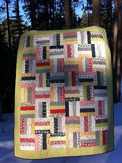 Reunion Jelly Roll Rail Quilt | by CoraQuilts~Carla