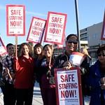 Antelope Valley Hospital Nurses Rally to Illuminate Need for Safe Staffing