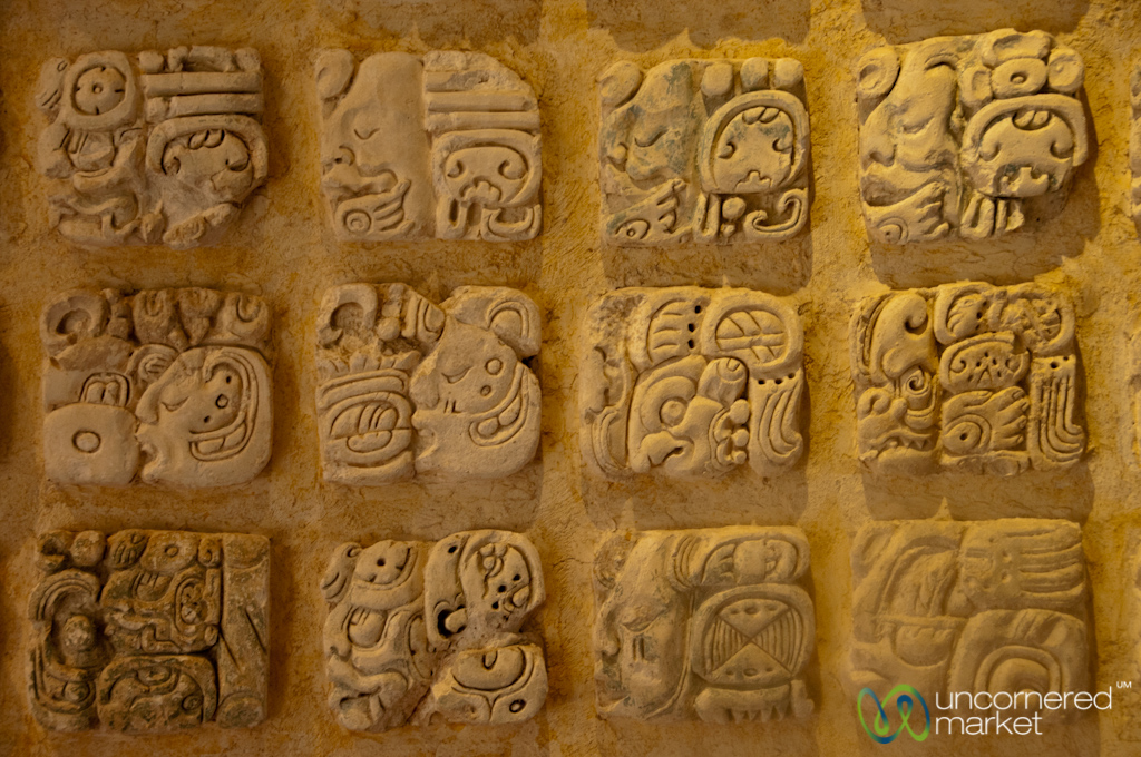 Mayan hieroglyphic writing