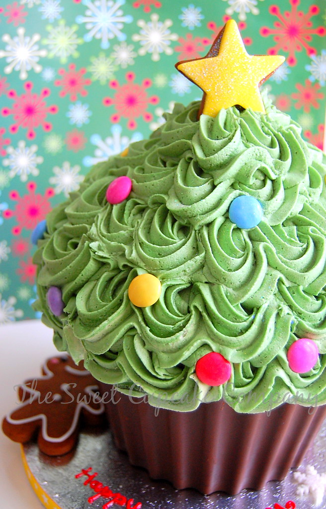Giant Cupcake Christmas tree | Melissa Kelly | Flickr