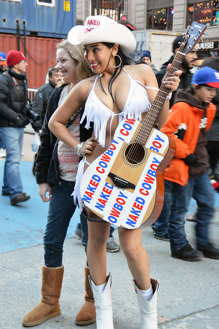 Naked cowgirl of times square pic 100