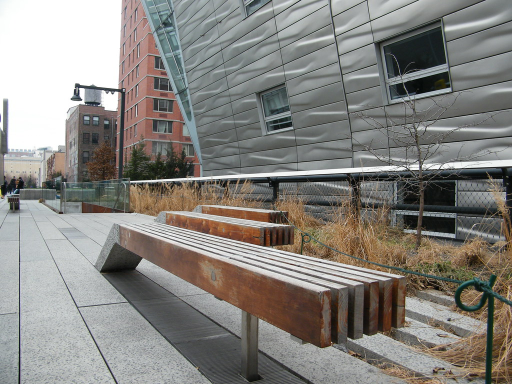 high line in winter new york city u0027s elevated garden and e u2026 flickr