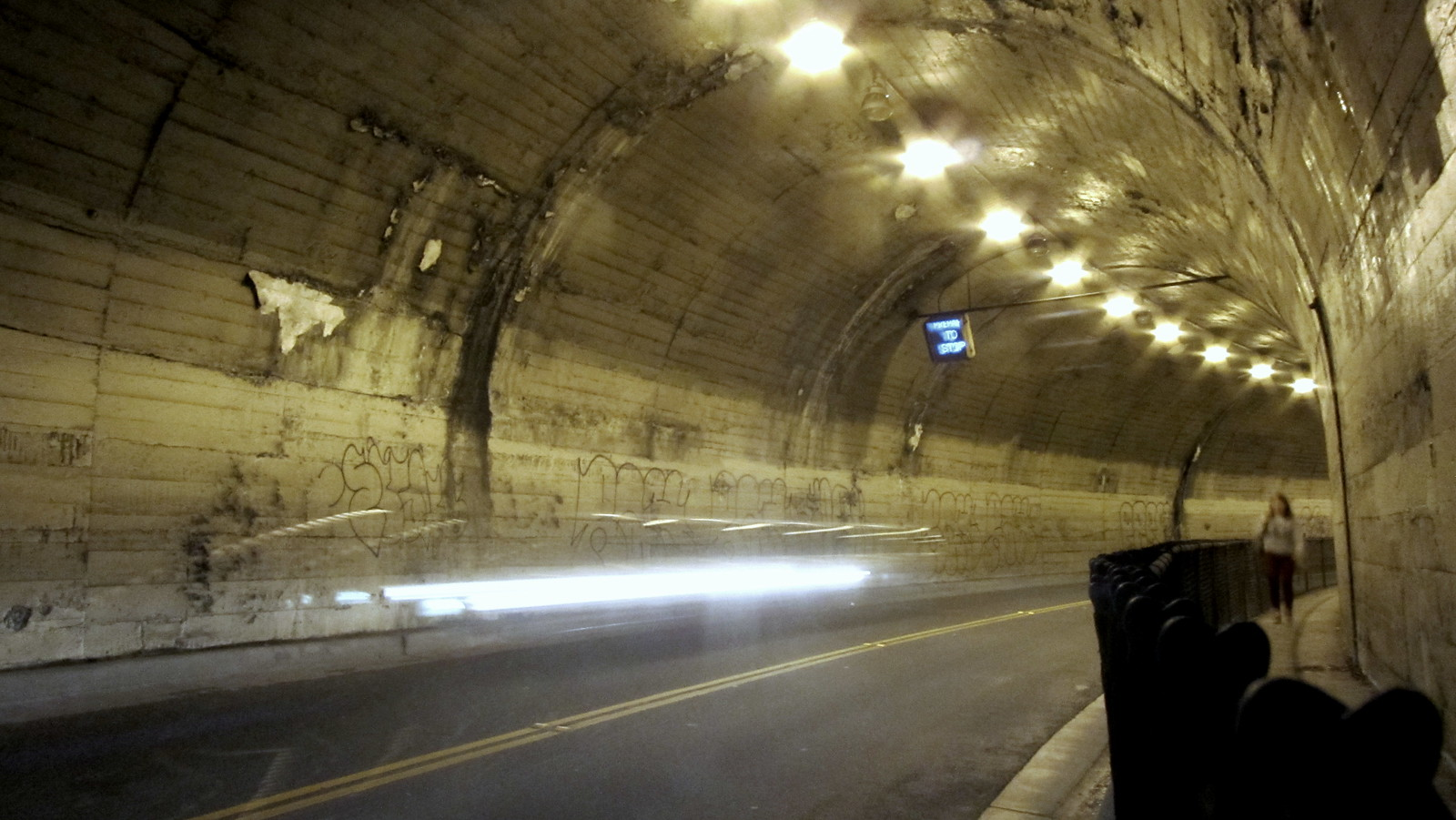 Northbrae tunnel   by TJ Gehling