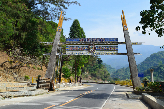 Benguet Welcome Arch-Welcome To Benguet Province,Philippin ...