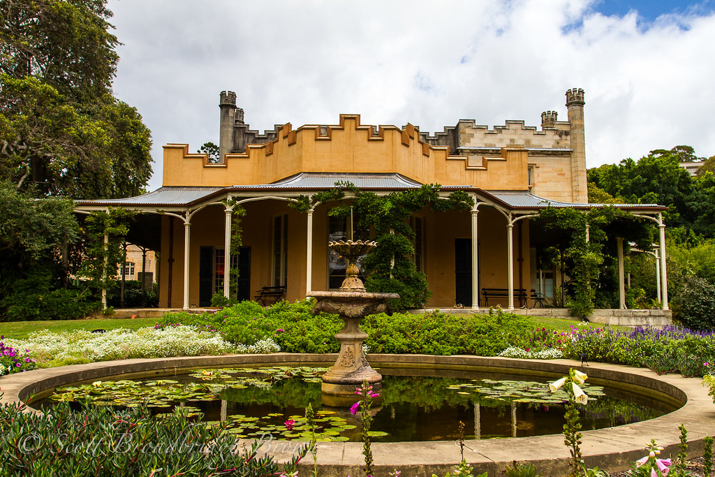 Vaucluse House | Vaucluse House and pond | Scott Broadbridge-Brown | Flickr