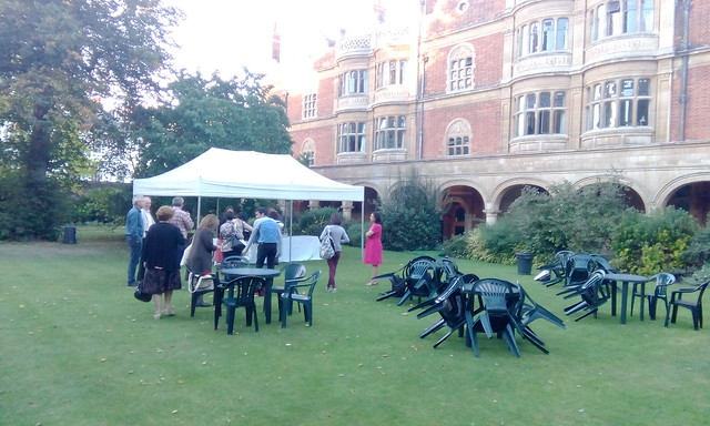 Sidney Sussex College backyard