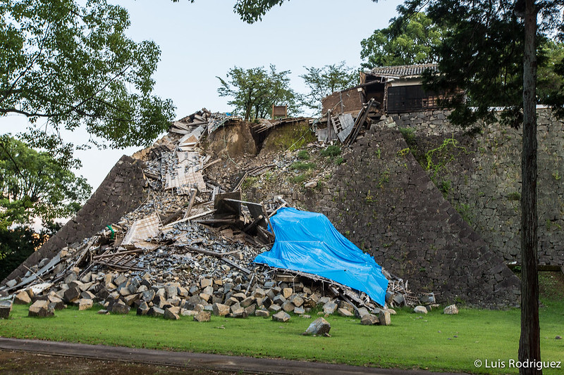 Castillo Kumamoto Terremoto-78