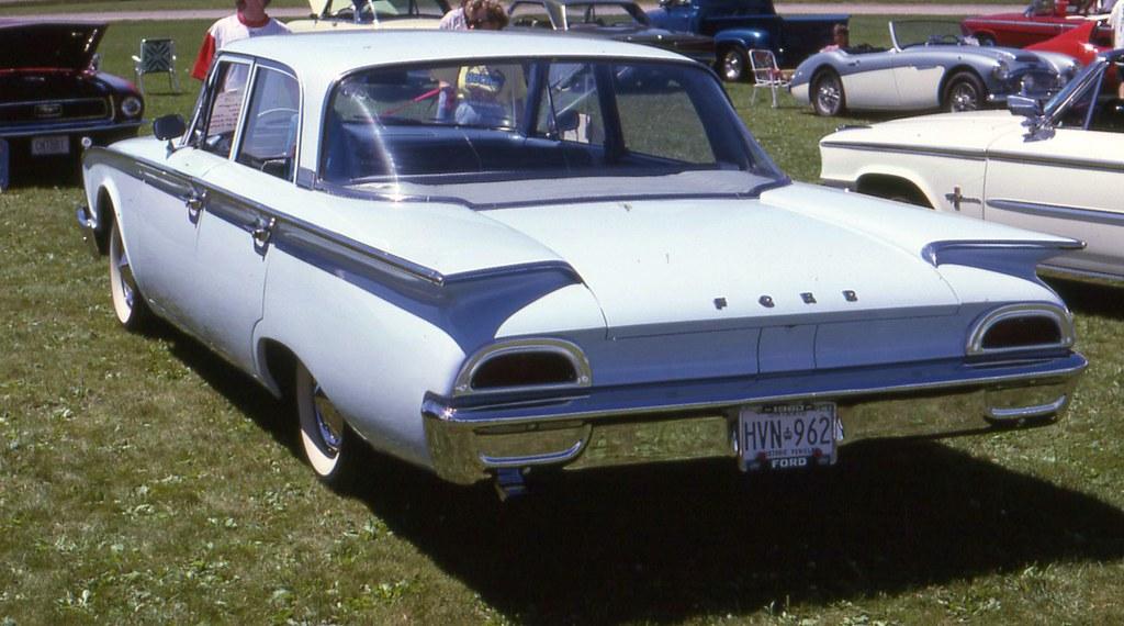 1960 ford fairlane 4 door