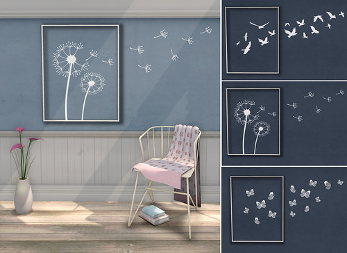 {what next} 'Flyaway' Wall Art (white) | by WinterThorn