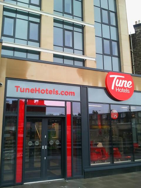 Tune Hotel Edinburgh Phone Number