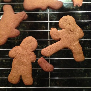 Ninjabread Man vs Gingerbread Man. | by stevegarfield