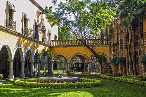 Haciendas de m xico jardines interiores de la hacienda for Jardines mexico