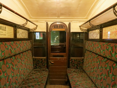 Old London Underground Carriage Ruth Hartnup Flickr