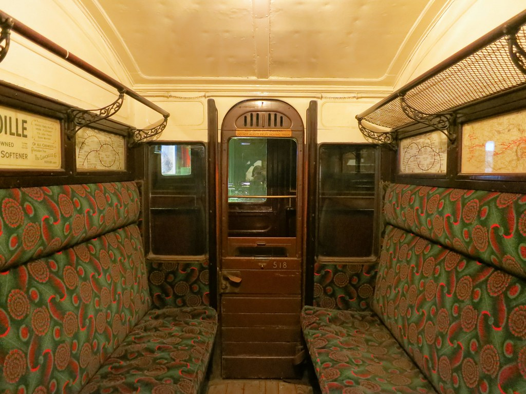 Old London Underground carriage | Ruth Hartnup | Flickr