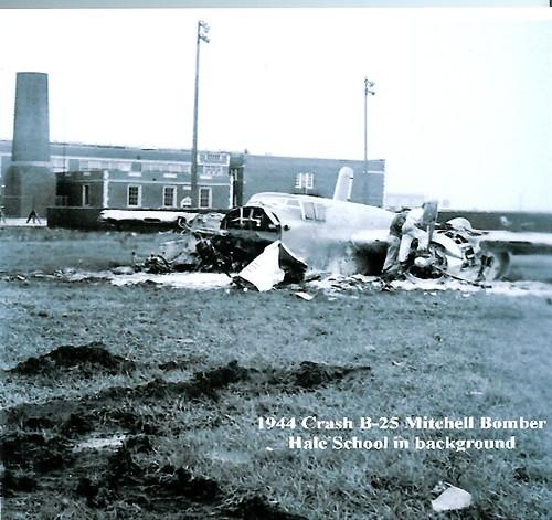 Chicago Municipal Airport - B-25 Crash In 1945