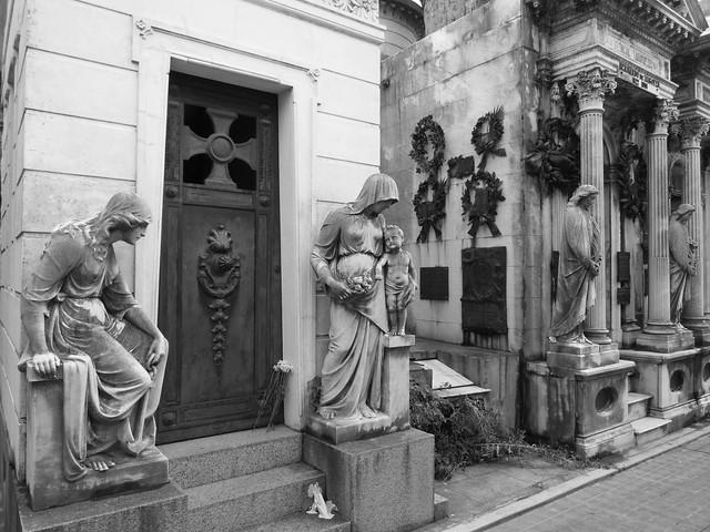 Cementerio de la Recoleta en Buenos Aires