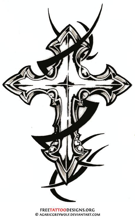 tribal cross tattoo design craig craig and tawana reynolds flickr. Black Bedroom Furniture Sets. Home Design Ideas