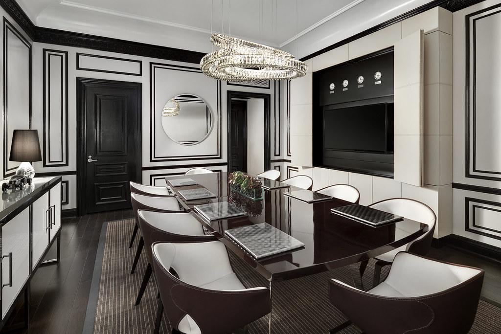 ... The St. Regis New Yorku2014Bentley Suite Dining Room | By St. Regis
