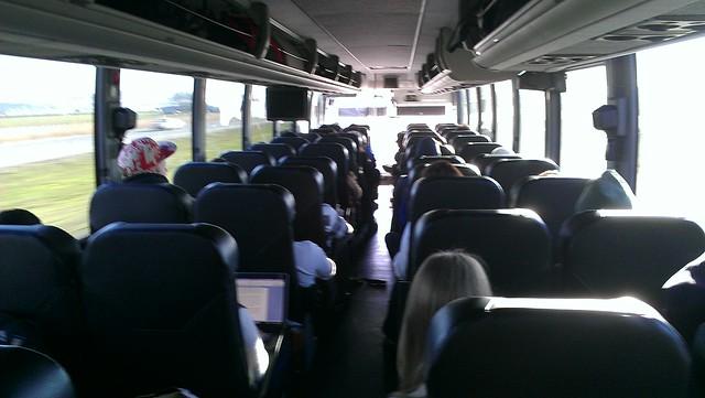 Bolt Bus Interior Looking Forward Flickr Photo Sharing