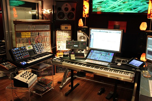 Junkie Xl Studio Command Center Accompaying Our March