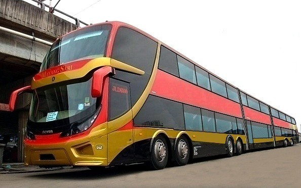 Super buss double decker bi articulated thanks for the for Motor coach driving jobs