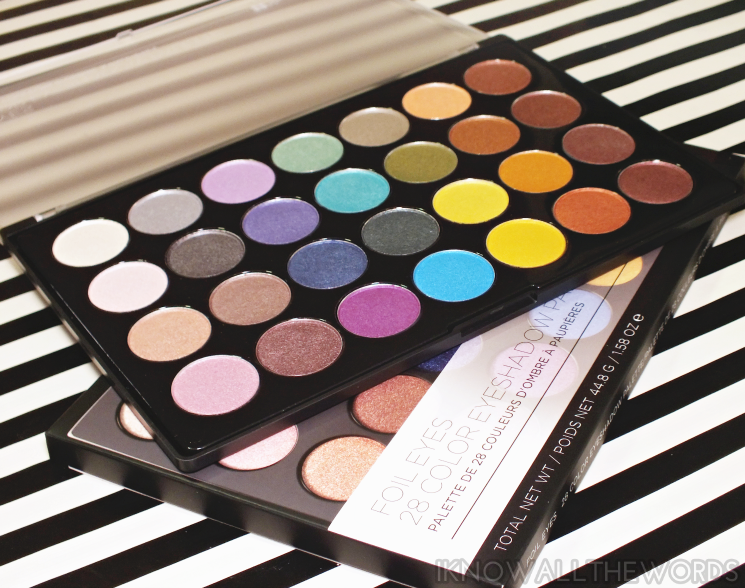 BH foil eyes 28 colour eyeshadow palette (1)
