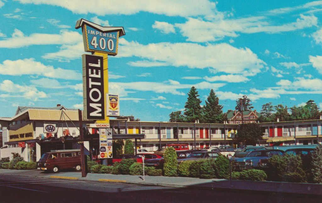 "Imperial ""400"" Motel - Pendleton, Oregon"