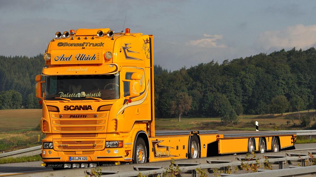 D Axel Ulrich Paletten Logistik Scania R09 620 Tl Flickr