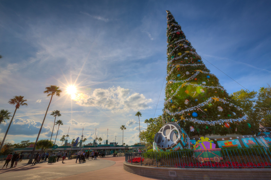 Hollywood Studios Christmas Studios Christmas Tree