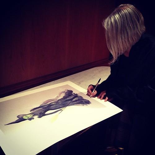 Designer Behind Sketch Pink Room