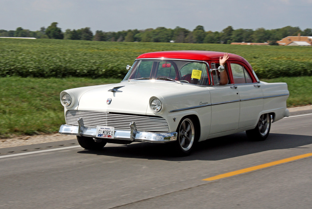 1955 ford customline tudor sedan 2 of 8 photographed for 1955 ford customline 2 door