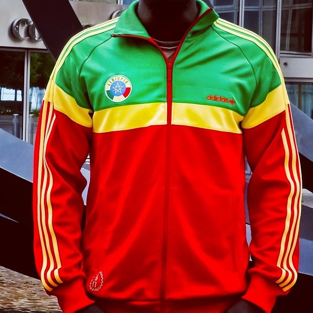 The Wonderful Adidas Originals Ethiopia Track Top By Enlaw