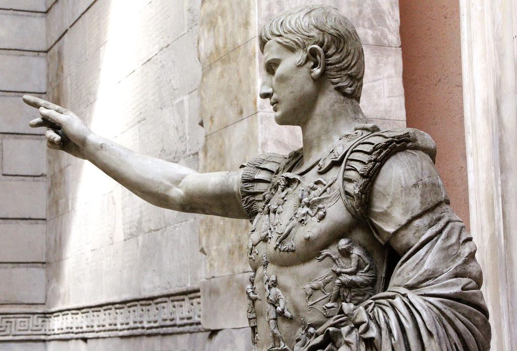 Augustus of Prima Porta | Copy of the original in the ...