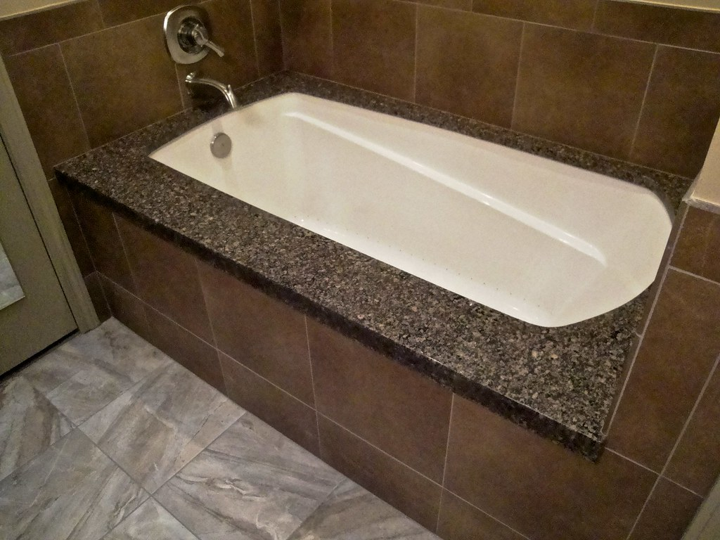 Granite Undermount Spa Tub Beautiful Comfortable Five