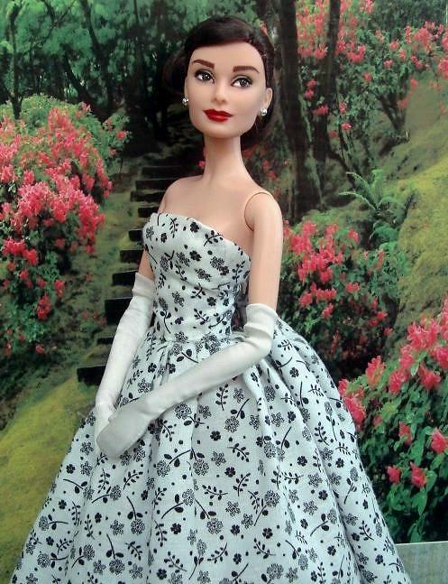 Audrey Hepburn High Fashion doll Up on Ebay tomarrow! Audr? Flickr