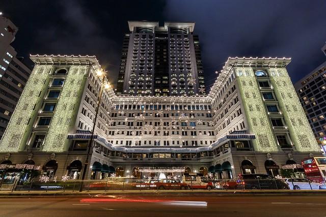 Peninsula hong kong quot with christmas lights flickr photo sharing