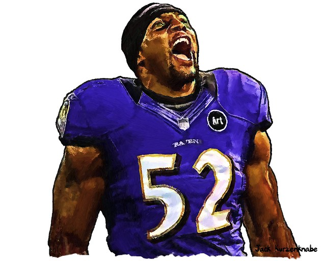 Ray Lewis Drawings Baltimore ravens ray lewis