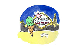 Ice cream in vegas | by cakespy
