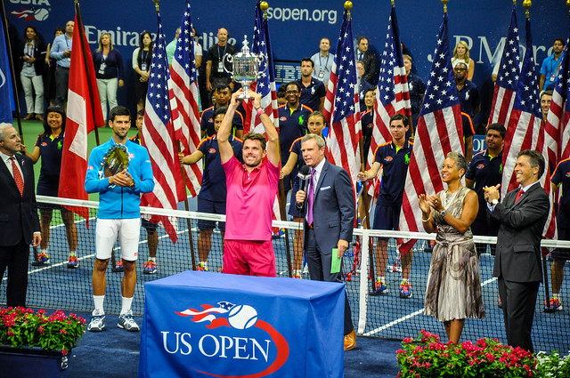 2016 US Open: Wawrinka defeats Djokovic