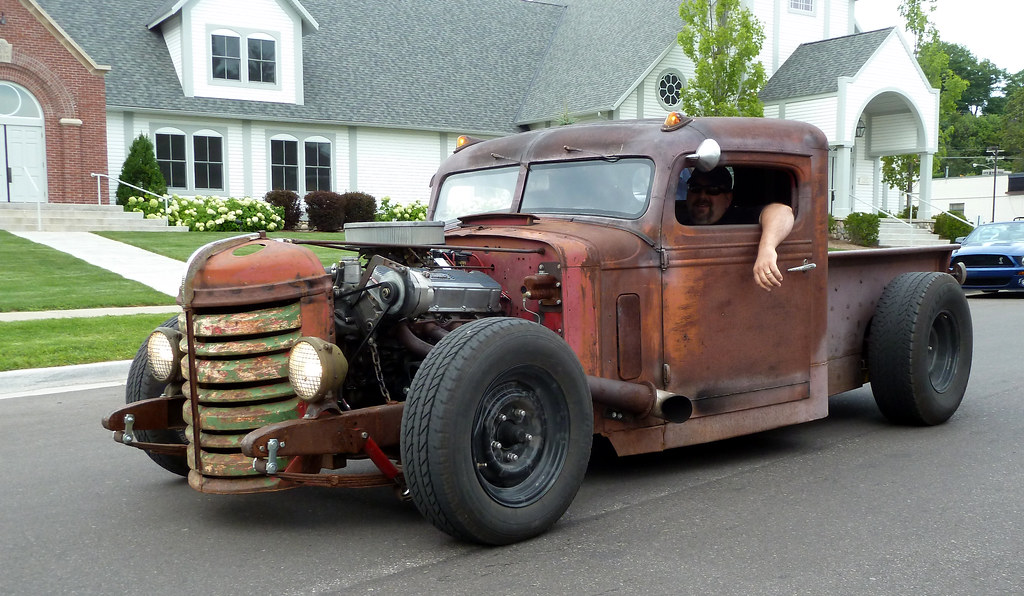 Federal Truck Rat Rod Harbor Springs Michigan There Is