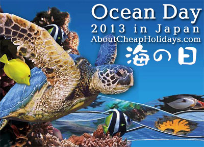 Ocean Day In Japan Ocean Day Referred To As Sea Day Or
