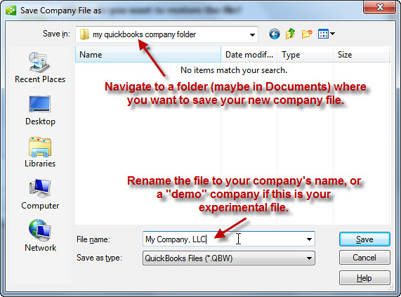 step 5 - open or restore quickbooks for landlords | This is