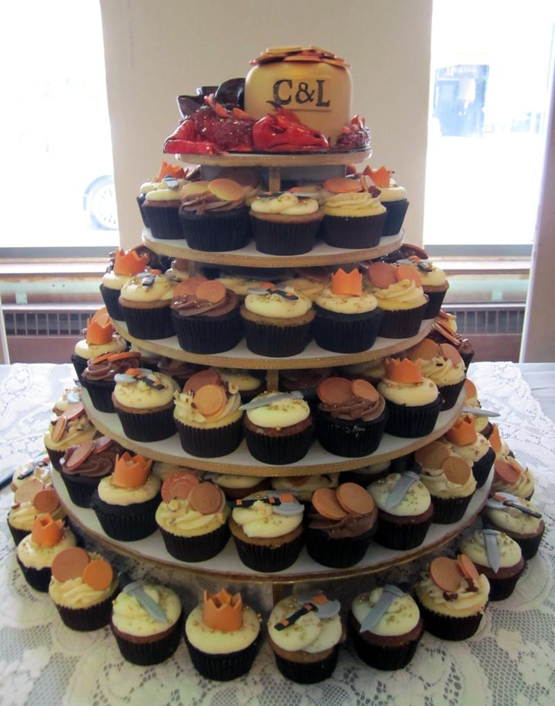 Cupcake Ring Cake