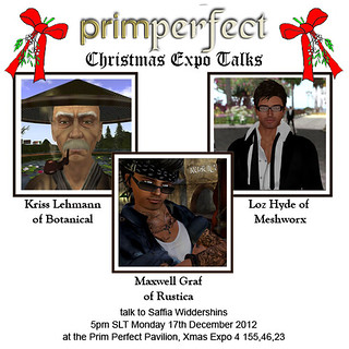 "PrimPerfect ""Christmas Expo Talks"" 