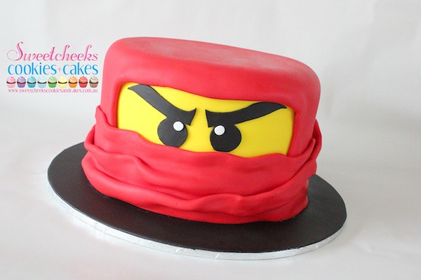Ninjago Head Cake I Was Sent A Photo Of The Little
