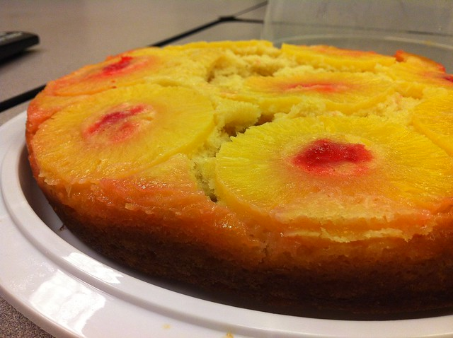 Homemade Pineapple Upside Down Cake From Scratch Bundt