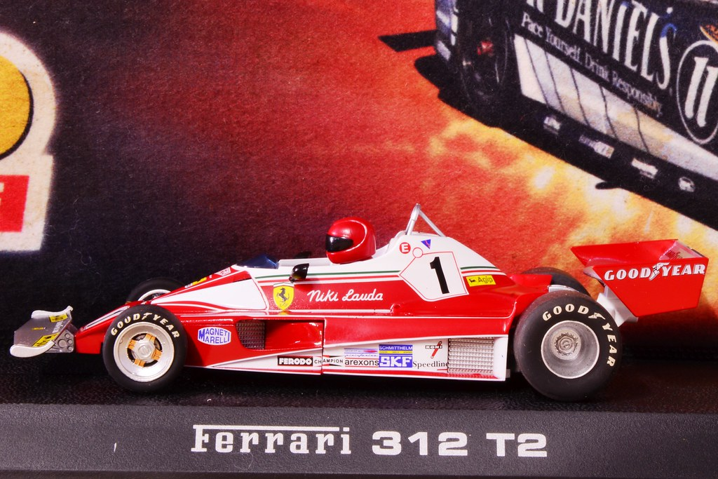 Niki Lauda Ferrari 312 T2 F1 Slot Car   Gordon Anderson ...